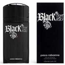 Perfume Paco Rabanne Black Xs Edt Masc 100ml 100% Original