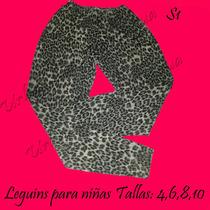 Leggings Licras Faldas Conjuntos Blusas Para Niñas