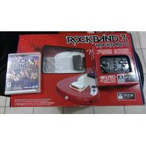Guitarra Mustang Pro Fender De Rockband 3 + Adaptador Midi