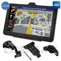 Gps 7 Pulgadas Lcd Mapas Actualizados Igo Garmin Tv Digital