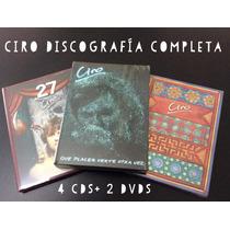 Ciro - Discografía Completa - Cds + Dvds Y Naranja Persa