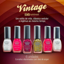 Nydc New York Esmaltes Vitaminados Kit C/6 Unidades.