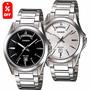 Reloj Casio Caballero Mtp1370 - Acero Inoxidable - Cfmx