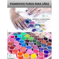 Pigmento Puro Para Hacer Polvo Acrilico Y Gel Uv De Colores