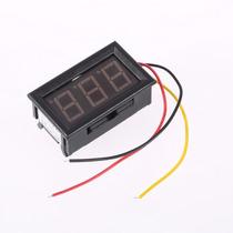Voltímetro Digital Led 12v 24v Remote Bateria Som Automotivo