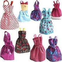 Rainbow Vestidos Hechos A Mano Para La Muñeca De Barbie Paqu