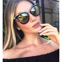 Oculos De Sol Feminino Cinema Evolution / Case Personalizado