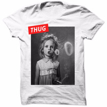Camiseta Swag Girl Cigarrete Dope Luxo Rap Hip Hop Masculina