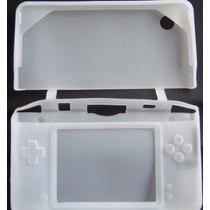 Case De Silicone Branco Para Nintendo Dsi Xl Ou Dsi Ll