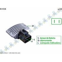 Regulador De Voltagem 14v Kia Besta Gs - Ikro