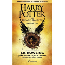 Harry Potter 8 Y El Legado Maldito - Rowling || En Stock