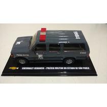 Miniatura Veraneio Rota Custom Viatura Chevrolet Collection