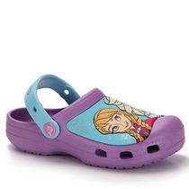Sandália Infantil Crocs Frozen - 22 Ao 30 - Lilas