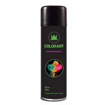 Tinta Spray Automotiva Fosforescente Verde Colorart