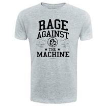 Camiseta Rage Against The Machine - Cinza - Rock Hardcore