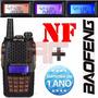 Radio Ht Dual Band(uhf+vhf) Baofeng Uv-6r + Fone + Nf