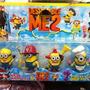 Juguete Set 4 Figuras De Minions Coleccionable