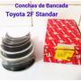 Conchas De Bancada Y Biela Toyota Standar 2f 3f 4.5