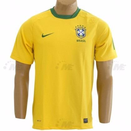 7afa579b0d Camisa Nike Cbf Brasil - Edição Especial Amarela - R  283