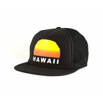 Boné Snap Back Importado Hawaii Aba Reta #1321037 Black
