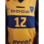 Musculosa Basquet Boca Juniors Alternativa Nike Original