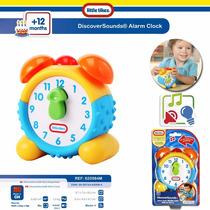 Reloj Didactico Sonido-ingles-espanol-frances Little Tikes