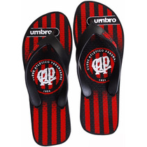 Chinelo Atlético Paranaense Oficial Umbro Of67001 Original +
