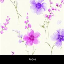 Papel De Parede Floral 3d Adesivo Lavável Autocolante