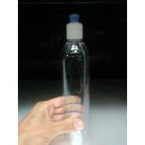 Envase Tipo Shampoo O Crema Con Dispensador 400cc Transparen