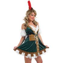 Robin Hood Disfraz - Large 16-18 Sexy Ladies Womens Mucama