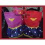 Bolsitas De Mujer Maravilla Y Superman