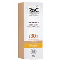 Minesol Actif Unify Tinted Mousse Medium Fps30 Roc - 40g