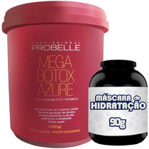 Mega Btox Azure 1kg Reconstrução Capilar Aa - Probelle