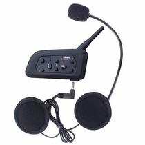 Intercomunicador Universal Para Casco Bluetooth V6 1200