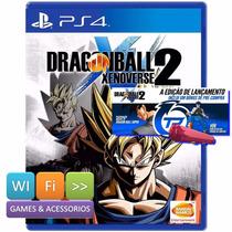 Dragon Ball Xenoverse 2 Ps4 Lacrado + Goku Black + Tao Stick