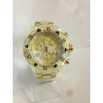 Relógio Masculino Luxo Marca Famosa Com Frete Grátis
