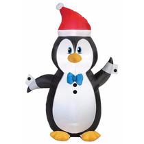 Navidad Inflable De Pingüino Navideño Envio Gratis