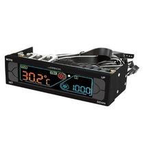 Controlador Fan Cooler Lcd Controle De Temperatura 1 Baia +e