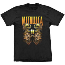 Camiseta Metallica Sanitarium Stamp