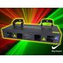 Laser Big Dipper M020/rg4 Rojo Y Verde Dmx Luces Dj Fiesta