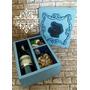 Caixa Para Mini Vinho - Arquivo De Corte Para Silhouette