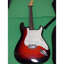 Guitarra Electrica Roja Con Amplificador En Remate Oferta