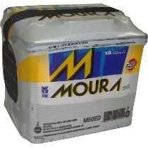 Bateria Moura 50 Ed Amperes Garantia De 18 Meses Retira
