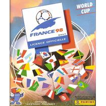 Álbum Da Copa Do Mundo De 1998 Editora Panini - Scaner