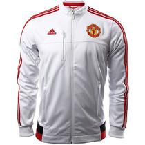Sudadera Anthem Manchester United 15/16 Hombre Adidas Ac2453