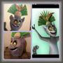 Rey Julien Mascote/ Fantasia Madagascar