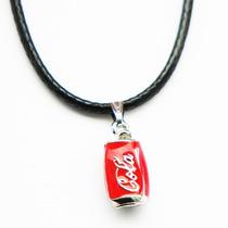 Collar Lata Coca Cola Para Hombre O Mujer Kawaii