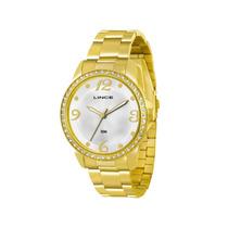 Relógio Lince Feminino Dourado Lrgj027l S2kx - Original