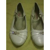 Zapatos De Vestir Blancos De Niñas
