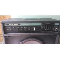 Amplificador De Bajo Acoustic 122 Made In Usa.